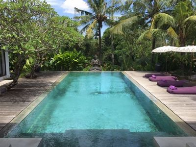Photo for Tempat Damai Luxury 3 Bedroom Villa, Rice Field View, Canggu