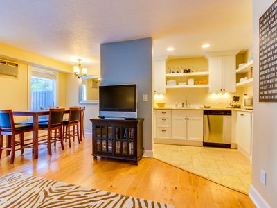Photo for Dog-friendly home w/ free SHARC passes included + new deck w/ a great gas grill!