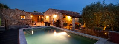 Photo for Charming stone house with 3 bedrooms, 3 bathrooms and a private pool.
