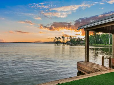 Photo for 6,152 sq ft lakehouse on beautiful Lake Conroe!
