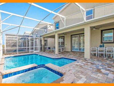 Photo for Championsgate 330 - 5* villa with private pool and game room near Disney