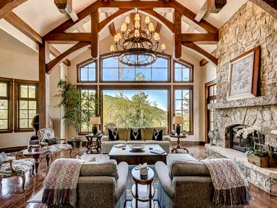 Photo for Grand, True Ski-in/out Castle; Theater, Game Room, Indoor Grotto, and Hot Tub