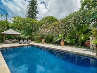 Photo for Large One-Story Home With Pool Just Steps to Kailua Beach