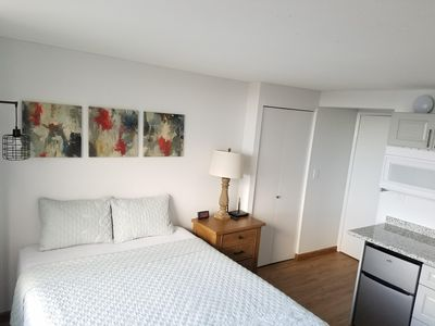 Photo for Newly renovated and clean studio in Waikiki  for two with amazing views