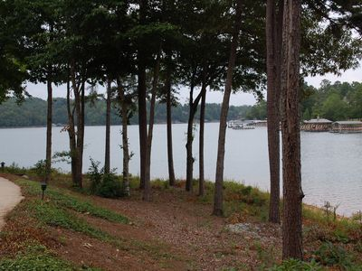 Photo for Stoneledge Luxury Lakefront Townhome, 15 minutes from Clemson!