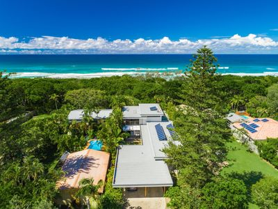 Photo for Absolute luxury right on Byron Bay's Tallows Beach surfcoast