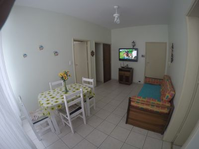 Photo for APTO 1 DORM PITANGUEIRAS A + - 80 MTS FROM THE BEACH .INTERNET AND SEA VIEW