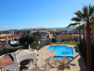Photo for Albufeira Main avenue - WALK TO OLD TOWN & OURA STRIP & BEACH - 2 BEDROOMS