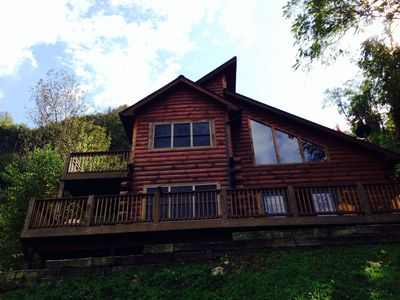 Photo for Mountain Side Log Cabin