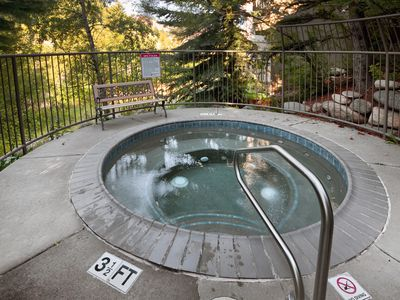 Photo for Free shuttle to Beaver Creek or 8 min walk to gondola, river views, hot tub