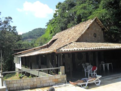 Photo for Wonderful house in front of the lake of Nogueira with spectacular leisure area