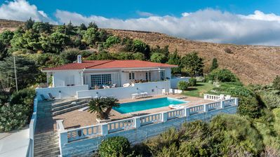 Photo for Panoramic Villa w/ Breathtaking Aegean View