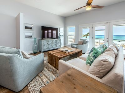 Photo for 4BR Beach FRONT☀Beachside West 13☀ Aug 25 to 28 $1534 Total!☀ Newly Remodeled