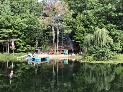 Custom Designed Lodge is the perfect escape for your family in Northern Michigan