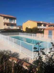 Photo for PLEIN SUD apartment in QUIET, SWIMMING POOL, TENNIS residence