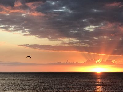 Photo for Beach Side of West Gulf Drive, Private Beach Access, Beautiful Sunsets!