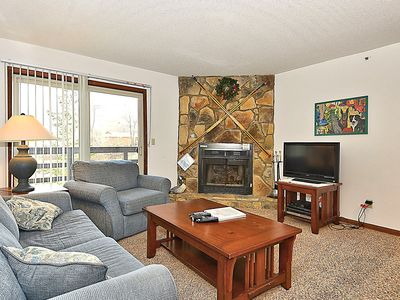 Photo for HWD204 condo is just steps away from the ski lift and lodge.