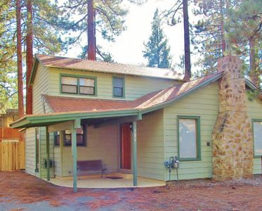 Photo for True Tahoe Charming Knotty Pine Cabin a block from the Lake & close to Heavenly