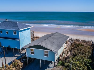 Photo for SEA NOTES: 3 BR / 2 BA oceanfront in Surf City, Sleeps 8