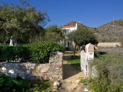 Photo for Villa by the sea, typical Andalusian style with swiming pool. Sleeps 6