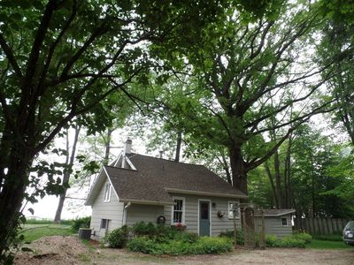Photo for Rustic Cottage on the Shores of Lake Michigan - Secluded Yet Close to Everything