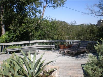 Private Deck Overlooking Shoal Creek Greenbelt