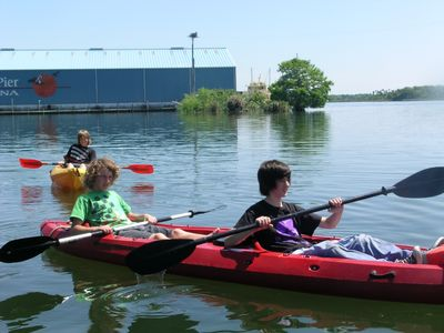 Kayaks included. Try Crystal River below, free use at Bird's Underwater