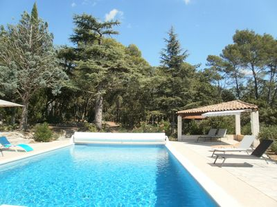 Photo for Clim, 12x6 pool, diving board, on 2 hectares, panoramic view, calm