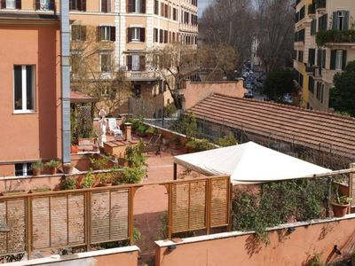 Photo for Rome: Apartment with large terrace in Trastevere.