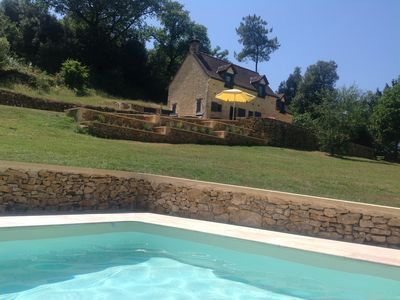 Photo for Les Truffes: quiet with a view of the Dordogne