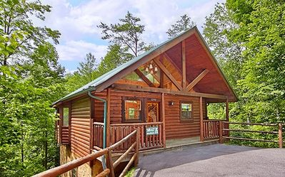Photo for Welcome to The Smokies Enjoy The Hiking Bear Cabin Private and Pet Friendly!!