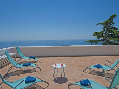 Photo for Villa Solare: A characteristic two-story independent house which faces the sun and the sea, with Free WI-FI.