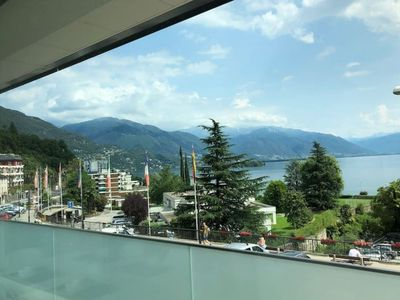 Photo for Charming Three-room Apartment with Lake Maggiore View - BRISSAGO LAKE VIEW 1
