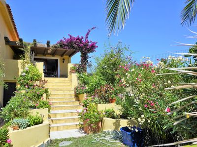 Photo for Sweet apartment with sea views in a quiet location - 200m to the beach