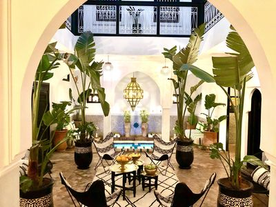 Photo for CHARMING RIAD (EXCLUSIVE) WITH JACUZZI POOL IN THE HEART OF THE MEDINA