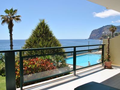 Photo for Ocean & Mountain View Apartment With Swimming Pool & Private Balcony