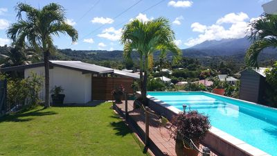 Photo for Small house swimming pool very beautiful mountain view 2 bedrooms