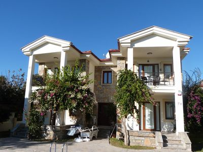 Photo for Apartment With Shared Pool, Mountain Views, 5 Mins Walk To Dalyan Town & Harbour