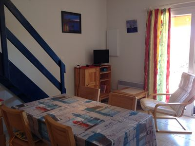 Photo for Holiday home with pool in Condo-Cap Coudalère -5 persons