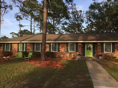 Photo for Private 3 Bd & 2 Ba Tybee House 3 blocks to the beach. Pet Friendly│Sleeps 10