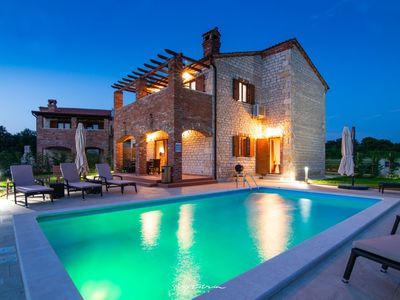 Photo for Charming Istrian villa with private pool near Pula