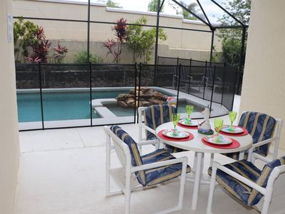 Photo for 3 miles Disney, Pool with Free Hot tub/whirlpool, A/C Game Room , Free Wi-Fi