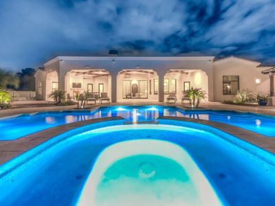 Photo for Gorgeous 2MM Mansion w/ Guest House, Private Theater, Heated Pool, Hot Tub & More!