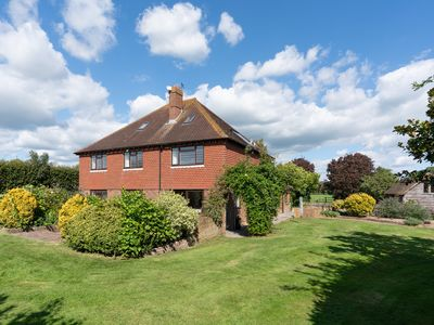 Photo for Drockmill - Sussex Farmhouse with Private Reservoir & Lake - Sleeps 11