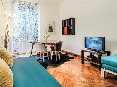Photo for Quiet 1 bedroom in the famous Brera district
