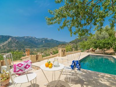 Photo for CA'N TOMEU - ADULTS ONLY - Villa with private pool in Bunyola.