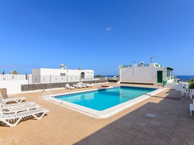 Photo for Central Apartment with Wi-Fi, Terrace & Pool