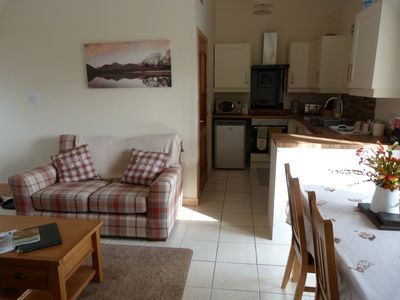 Photo for Stunning views, cottage in a peaceful location overlooking Dufftown.