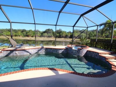 335 Beautiful pool house with gorgeous view