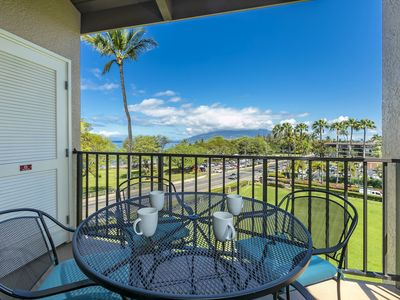 Photo for New Listing! 2 Bedroom / 2 Bath Amazing Views of West Maui Mtns & Ocean!